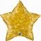 Шар Звезда золотая 51 см