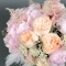 Букет невесты Розовый шифон - Фото 4