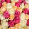 Букет микс из 123 роз - Фото 5