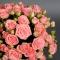 Розы Пинк Ванесса в белой шляпной коробке - Фото 5