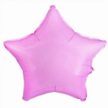 Куля Зірка рожева 46 см