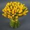 Букет из 75 желтых тюльпанов - Фото 2