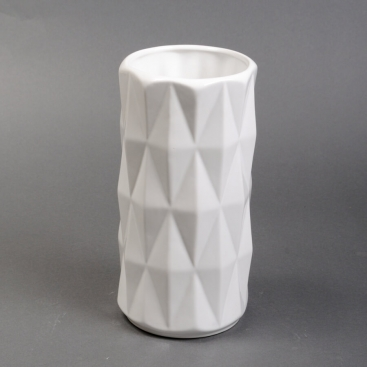 Ваза керамика Перун белая