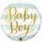 Шар круглый Baby boy 46 см