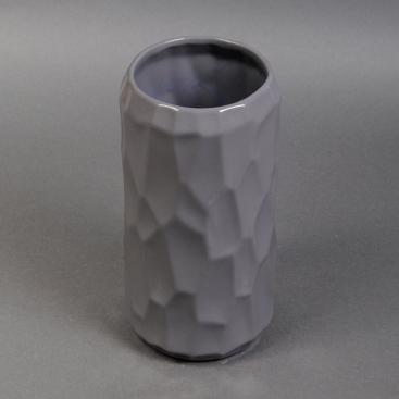 Ваза керамика Яра серая