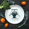 Тарелка Енот обжора - Фото 1