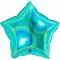 Шар Звезда голубая Тиффани 46 см