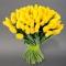 Букет из 101 желтого тюльпана - Фото 1