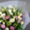 Букет тюльпанов Элеганс - Фото 4