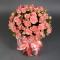 Розы Пинк Ванесса в розовой шляпной коробке - Фото 3