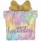 Воздушный шар коробка подарков