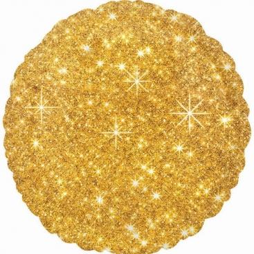 Шар круглый золотой 46 см