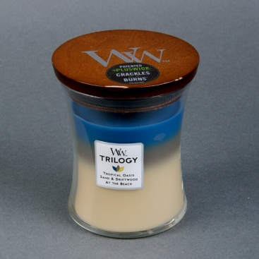 Candle WoodWick Trilogy Tropical Oasis