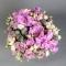 Композиция розы с орхидеями в бархатной коробке - Фото 3