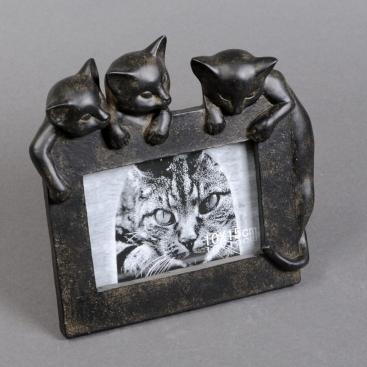 Фоторамка Три котенка 23см