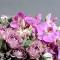 Композиция розы с орхидеями в бархатной коробке - Фото 5