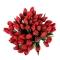 Букет из 51 красного тюльпана - Фото 4