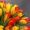 Букет из 25 тюльпанов Весна - Фото 3
