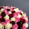 Букет из 101 розы микс - Фото 5