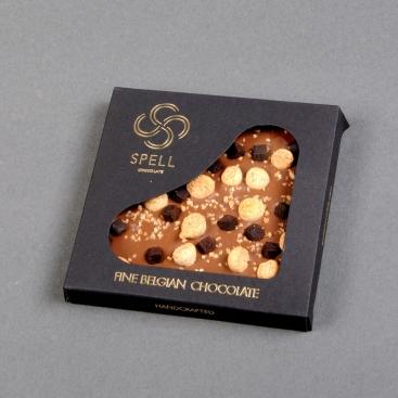 Бельгийский шоколад Солёная карамель с фундуком