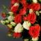 Букет микс из 51 роз спрей - Фото 4