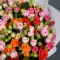 Bouquet mix of 45 roses spray - Photo 5