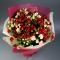 Букет микс из 19 роз спрей - Фото 4