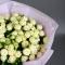 Букет из 19 роз спрей Сноу Ворлд  - Фото 5