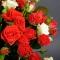 Букет микс из 51 роз спрей - Фото 3