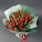 Букет из 45 красных тюльпанов  - Фото 3