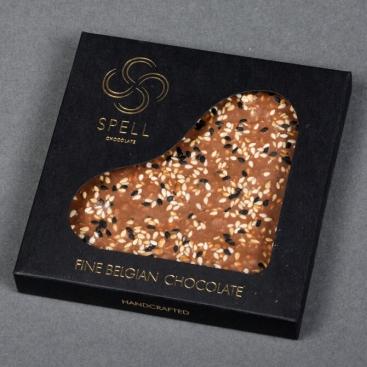 Бельгийский шоколад Медовая с кунжутом