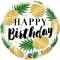 Шар Happy Birthday ананасы 46 см