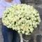 Букет из 51 розы спрей Сноу Ворлд - Фото 4