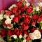 Букет микс из 19 роз спрей - Фото 5