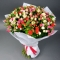 Bouquet mix of 45 roses spray - Photo 1