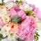 Букет невесты с пионами и фрезиями - Фото 4