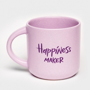 Purple cup Happiness maker