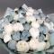 51 белый и голубой пион - Фото 4