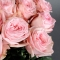 Букет из 15 роз Пинк Охара - Фото 4