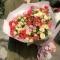 Букет из 21 розы спрей  - Фото 1