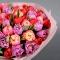 Букет разноцветных тюльпанов Free spirit - Фото 4