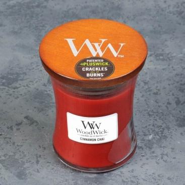 Свеча WoodWick Cinnamon chai
