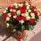 Букет из 51 розы Эль Торо и Сноу Флейк - Фото 1