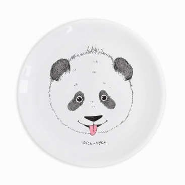 Детская тарелка Панда кусь-кусь