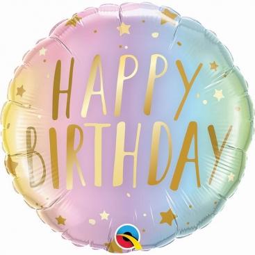 Воздушный шар Happy Birthday