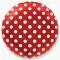 Шар Горошек красный 46 см