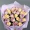 Букет 25 роз Мемори Лейн и Шарман - Фото 4