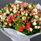 Bouquet mix of 45 roses spray - Photo 4