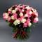 Букет из 101 розы микс - Фото 3