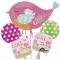 Букет шаров Baby Girl 46 cм